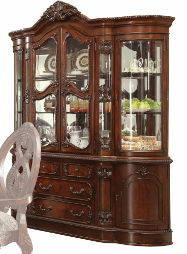 Rovledo Hutch and Buffet - Cherry