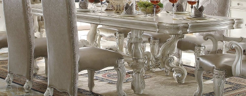 Versailles Dining Table (120L) - Bone White