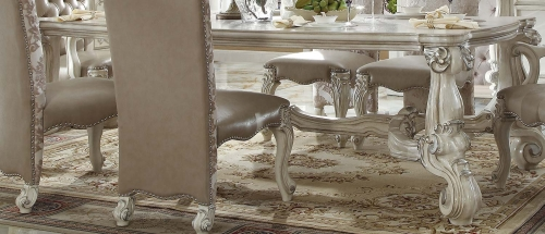 Acme Versailles Dining Table (96L) - Bone White