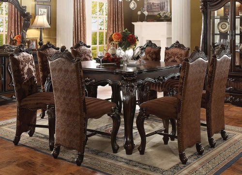 Acme Versailles Counter Height Dining Set - Cherry Oak