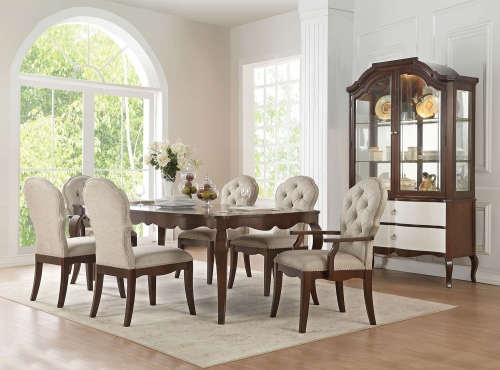 Mathias Dining Set - Walnut