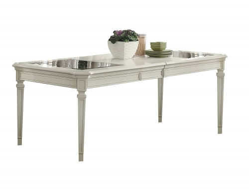 Florissa Dining Table - Antique White