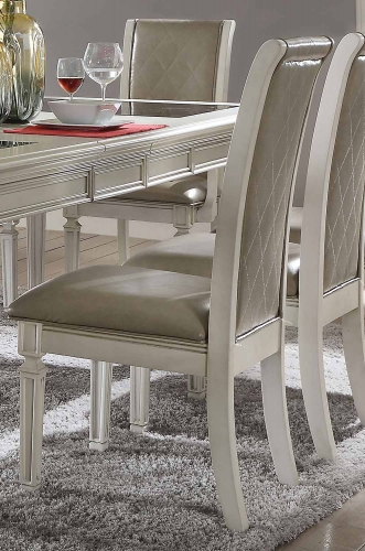 Florissa Side Chair - Antique White