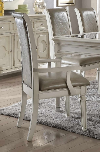 Florissa Arm Chair - Antique White
