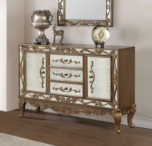 Orianne Server - Antique Gold