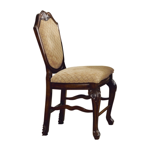 Chateau De Ville Counter Height Chair - Fabric/Espresso