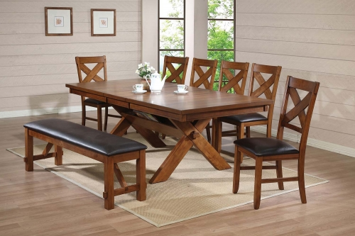 Apollo Dining Set - Walnut