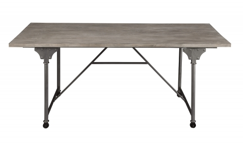 Jonquil Dining Table - Gray Oak/Sandy Gray
