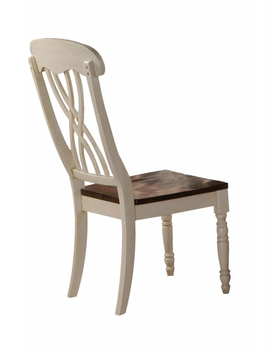 Dylan Side Chair - Buttermilk/Oak