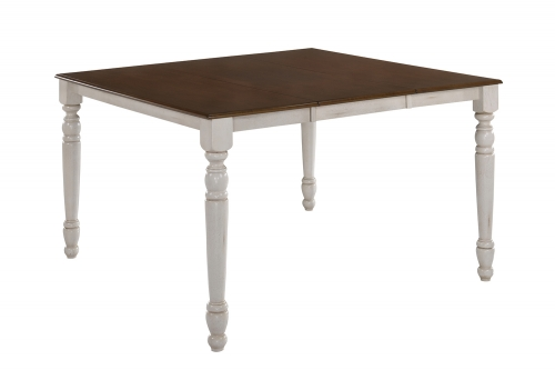 Dylan Counter Height Table - Buttermilk/Oak