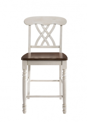 Dylan Counter Height Chair - Buttermilk/Oak