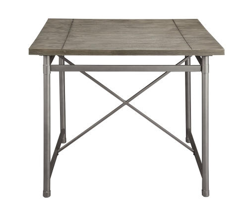 Kaelyn II Counter Height Table - Gray Oak/Sandy Gray
