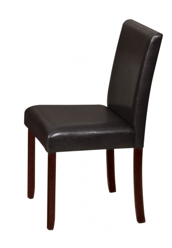 Trava Side Chair - Vinyl Cherry