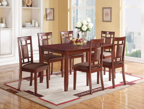 Sonata Dining Set - Cherry