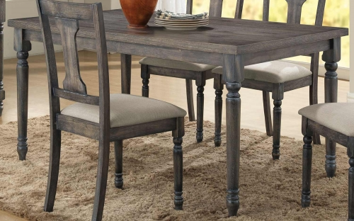 Wallace Dining Table - Weathered Gray