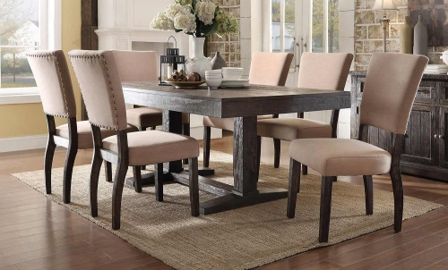 Eliana Dining Set - Salvage Dark Oak