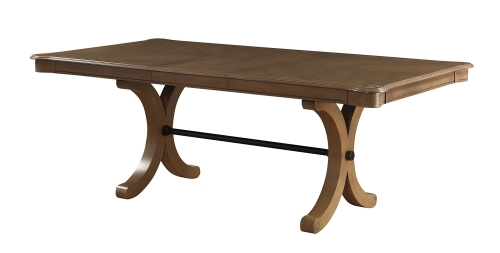 Harald Dining Table - Gray Oak