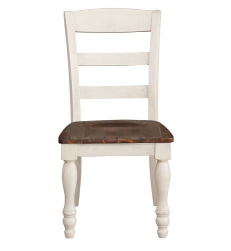 Britta Side Chair - Walnut/White Washed