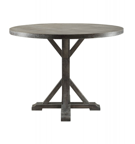 Carmelina Counter Height Table - Weathered Gray Oak
