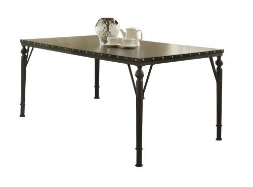 Hadas Rectangular Dining Table - Walnut