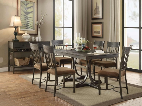 Kipp Dining Set - Antique Black