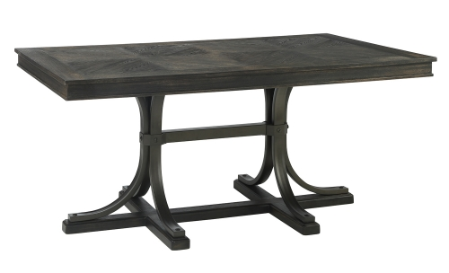 Kipp Dining Table - Antique Black
