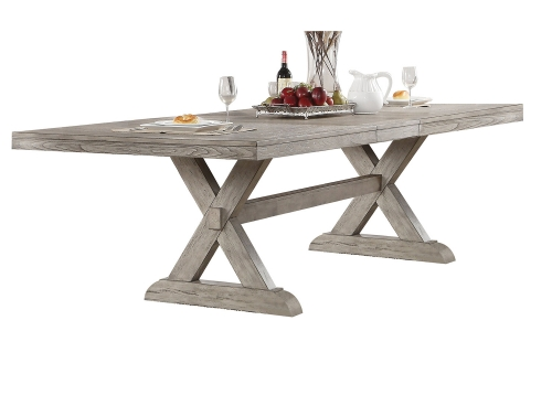 Rocky Dining Table - Gray Oak