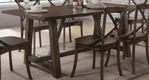 Kaelyn Dining Table - Dark Oak