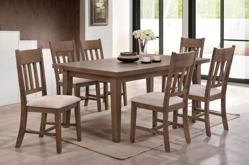 Ulysses Dining Set - Weathered Oak