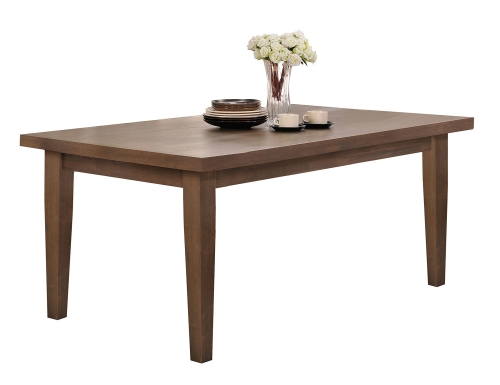 Ulysses Dining Table - Weathered Oak