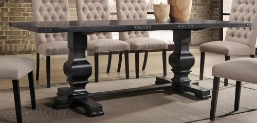 Morland Dining Table - Vintage Black