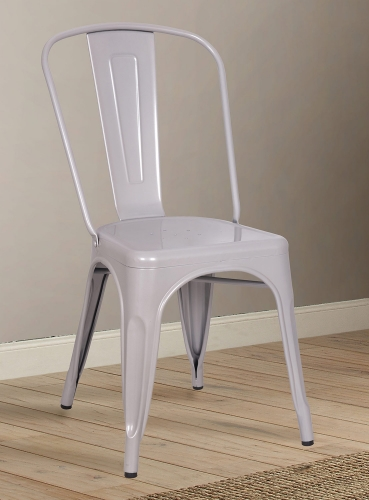 Jakia Side Chair - Silver