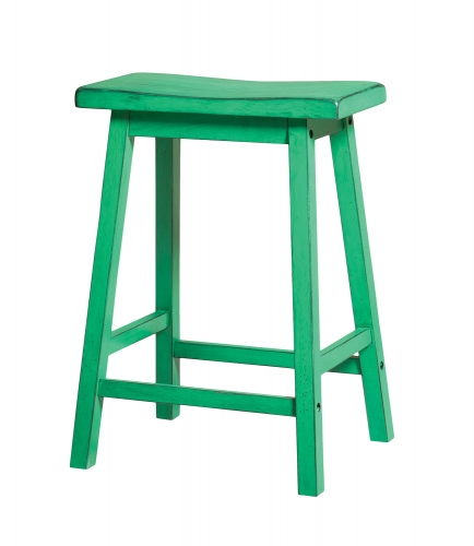 Gaucho Counter Height Stool - Antique Green