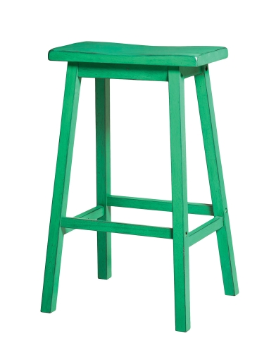 Gaucho Bar Stool - Antique Green