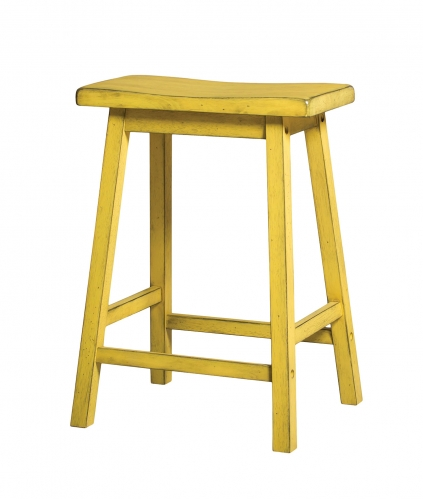 Acme Gaucho Counter Height Stool - Antique Yellow