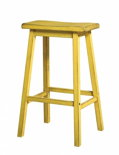 Gaucho Bar Stool - Antique Yellow