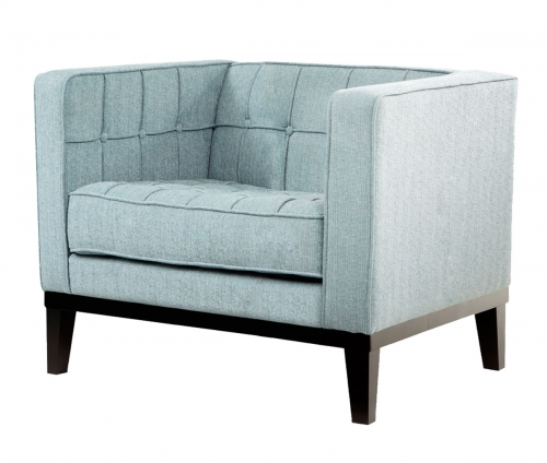Roxbury Arm Chair - Spa Blue Fabric