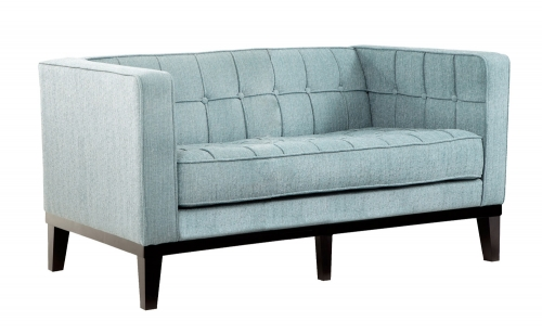 Roxbury Loveseat - Spa Blue