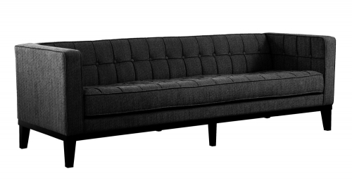 Roxbury Sofa - Charcoal Fabric