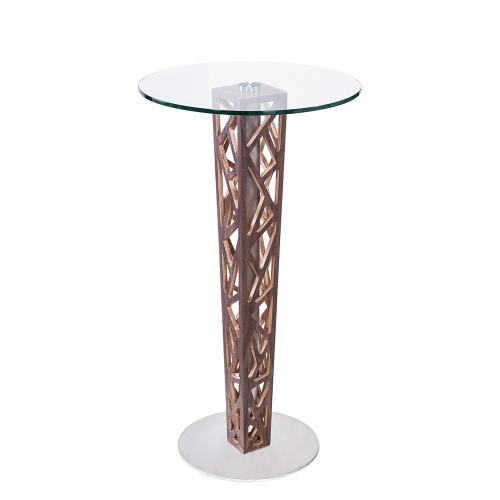 Crystal Bar Table - Clear