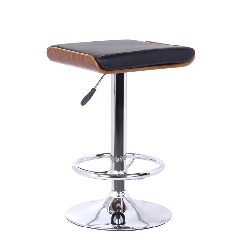 Java Bar Stool - Black Leatherette