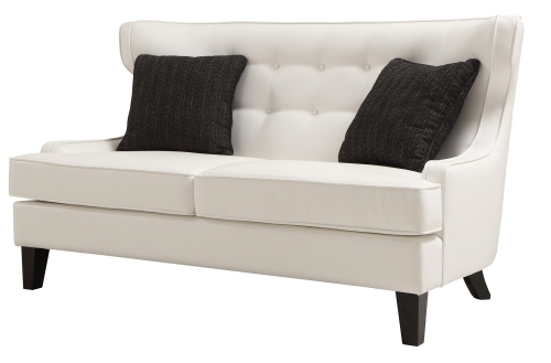 Skyline Loveseat - White