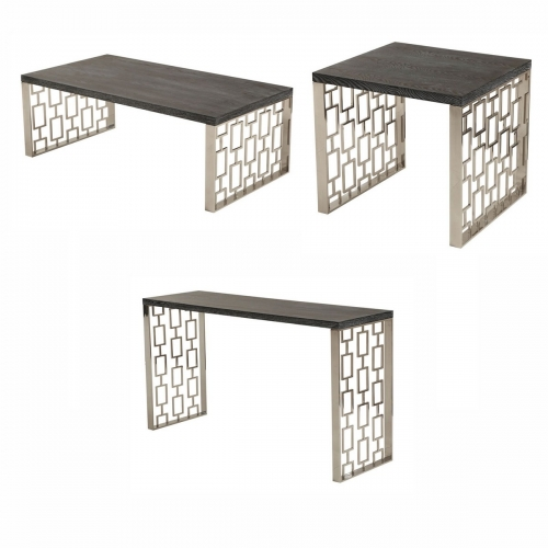 Skyline Occasional Set - Charcoal
