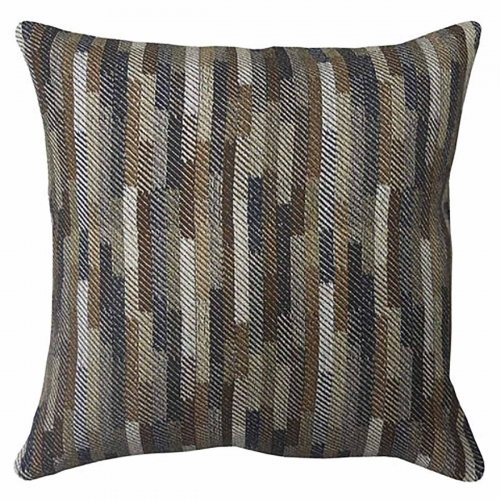 Daru Pillow - Set of 4 - Cream/Brown/Blue