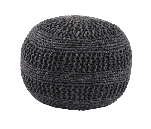 Benedict Pouf - Charcoal