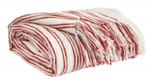 Callumn Throw - Set of 3 - Coral