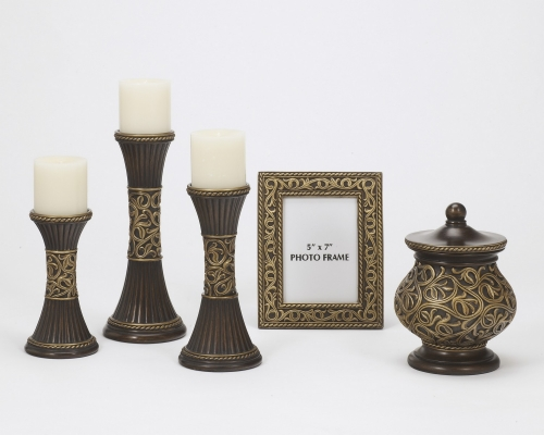 Mariana Decorative Table Top Accessory Set