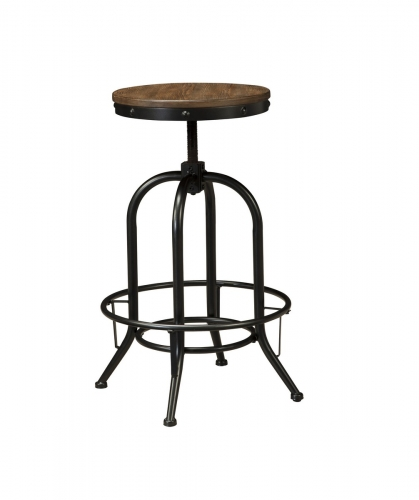 Pinnadel Tall Swivel Stool