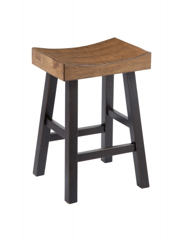 Glosco Counter Height Saddle Stool