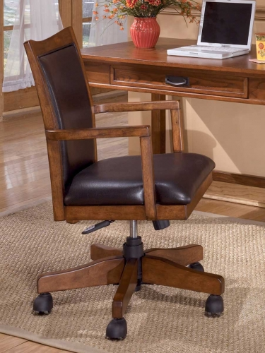 Cross Island Home Office Swivel Chair